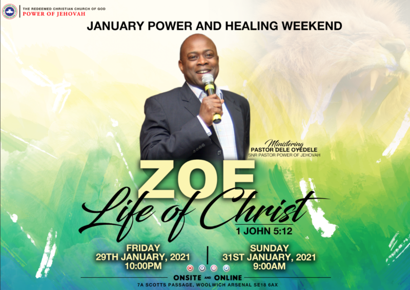 POWER AND HEALING WEEKEND