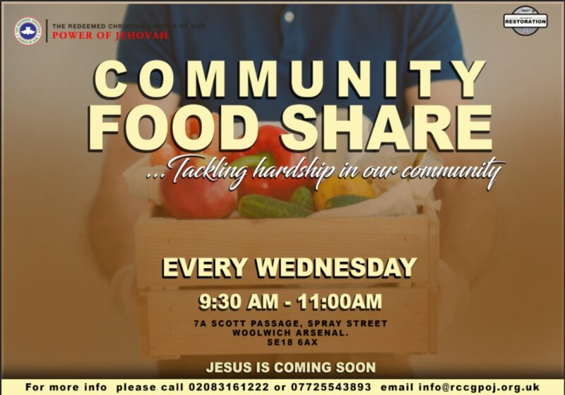 LOVING OUR COMMUNITY- FOOD SHARE